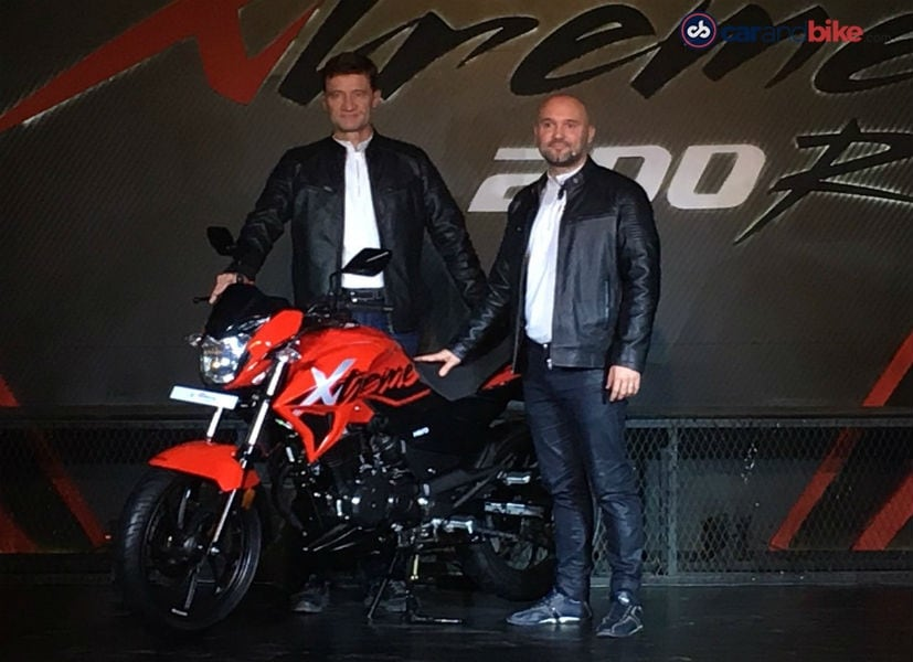 Hero MotoCorp unveils all new Creme 200R