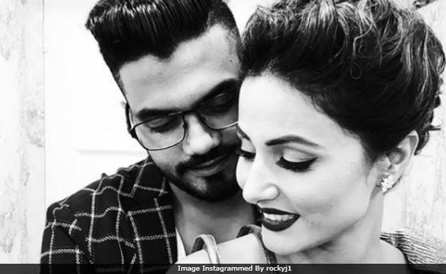 Bigg Boss 11: Hina Khan Is 'Glad' Her Romance With Boyfriend Rocky Is Now Public