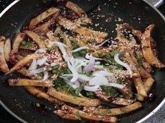 Honey Chilli Potato