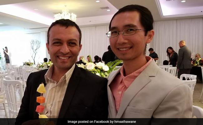 US-Based Indian Engineer Marries Gay Partner In Maharashtra