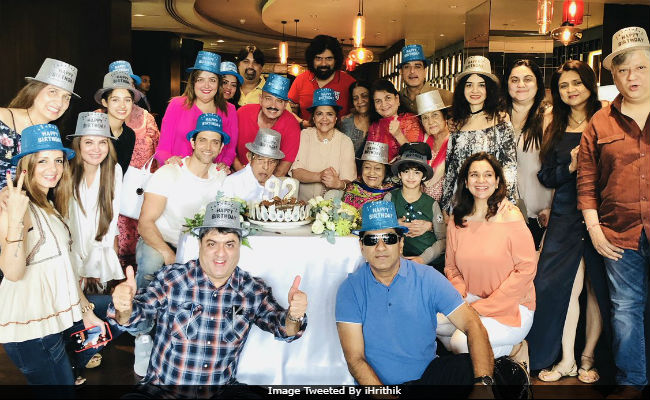 Hrithik Roshan Celebrates Grandfather's Birthday. Posts Wonderful Family Pics