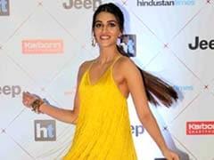 Kriti Sanon's Yellow Dress Looks A Lot Like One Heidi Klum Wore In 2014