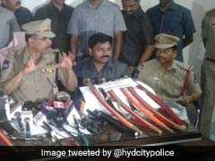 12 Men Who Bought Swords, Knives Online, Posted On Social Media Detained