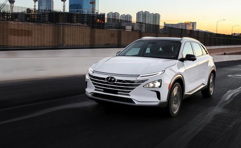 CES 2018 Hyundai Reveals Nexo Fuel Cell Powered SUV