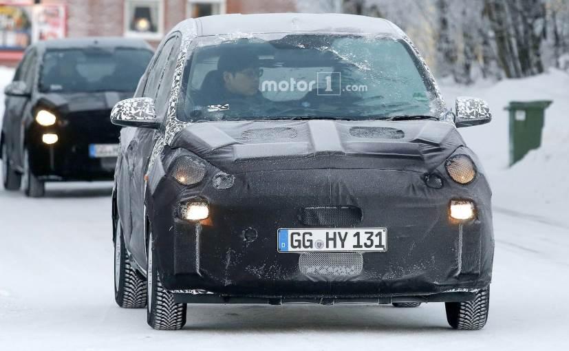 Hyundai Santro Caught Testing In Europe