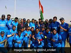 India Enter Blind Cricket World Cup Final, To Face Pakistan