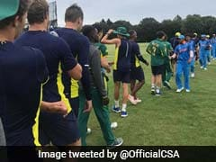 U-19 World Cup: India Beat South Africa By 189 Runs In Warm-Up Match