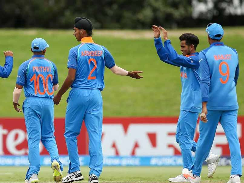 India vs Pakistan, Highlights, ICC U19 World Cup Semi-final: India Crush Pak By 203 Runs, Face Australia In Final
