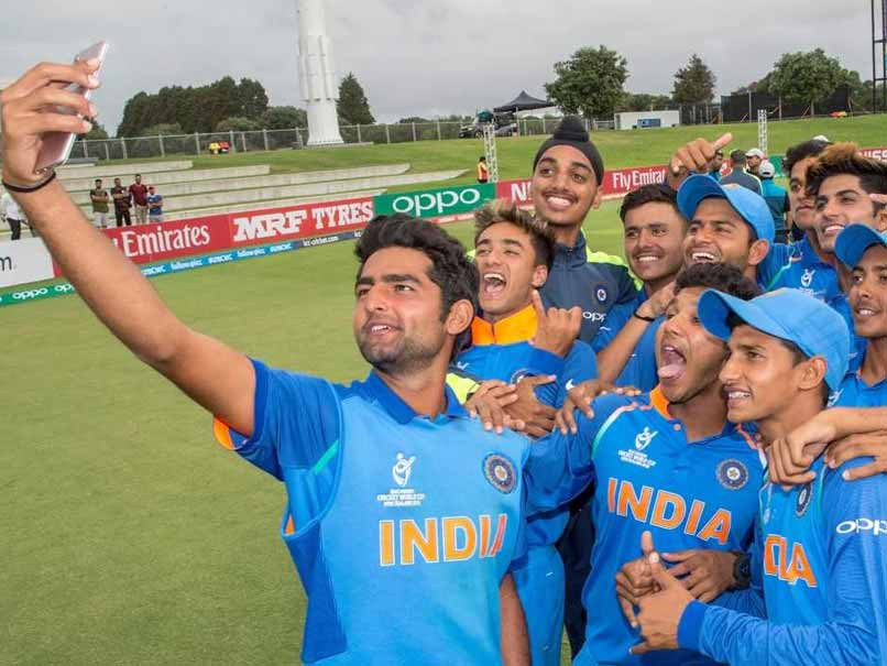 Image result for india under 19 team