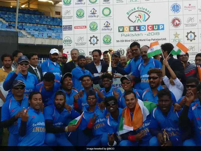 India lifts Blind Cricket World Cup 2018, beat Pakistan by 2 wickets