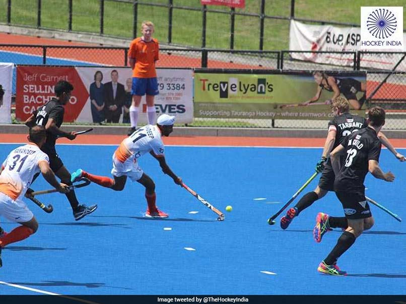 Four Nations Invitational Hockey: India Beat New Zealand To Reach Final