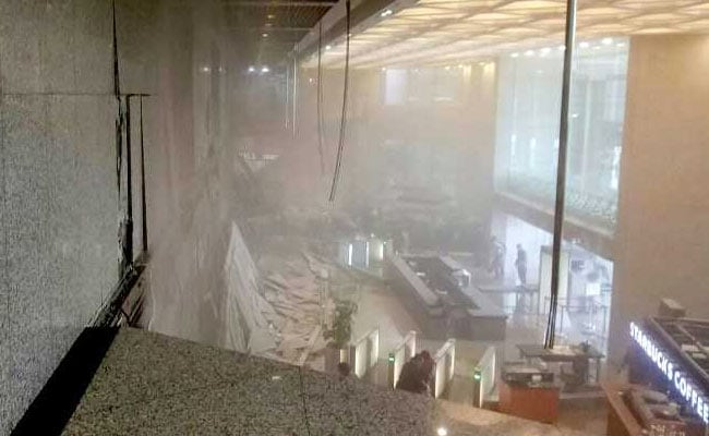 Floor At Indonesia Stock Exchange Collapses, At Least 75 Injured