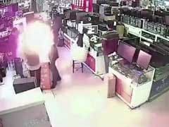 Video: Man Bites iPhone Battery. It Explodes Inches From His Face