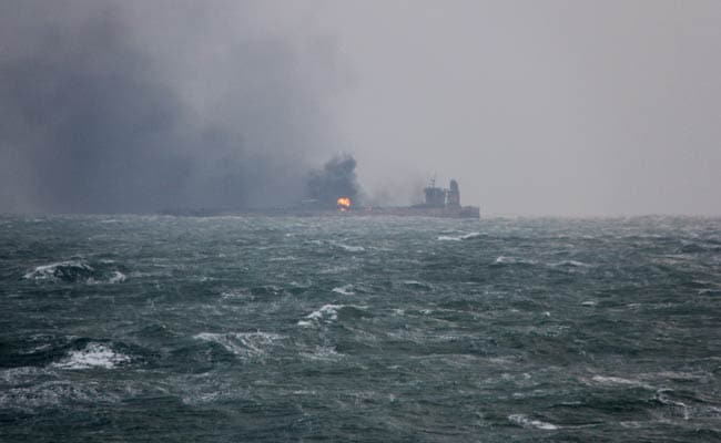 Fire On Iran Oil Tanker Could Last For A Month, 31 Sailors Still Missing