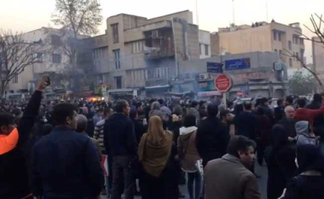 10 People Killed In Iran Unrest On Sunday: State Media