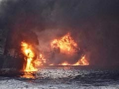 Burning Iranian Oil Tanker Sinks Over A Week After Accident: Report