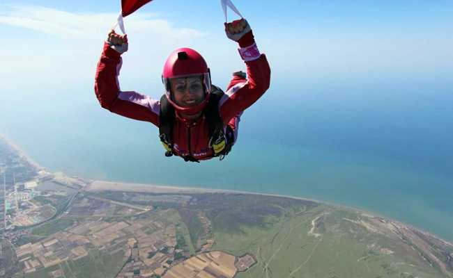 This Iranian Woman Is Not A 'Feminist' But She Skydives For Equality