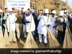 Himachal Pradesh Chief Minister Jai Ram Thakur Launches Cleanliness Drive