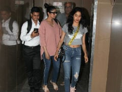 Sridevi, Daughter Janhvi Kapoor And Ishaan Khatter Watch A Film Together. See Pics
