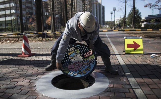 Japan Sewers Clean Up Their Act With Manhole Art