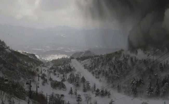 Fresh Tremors Halt Search Operations After Volcano Erupts in Japan