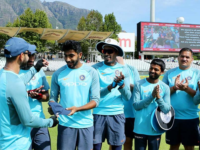 India Vs South Africa, 1st Test, Day 1: Virat Kohli Presents Jasprit Bumrah With His Test Cap