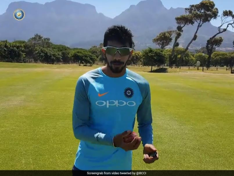 Team India practices indoors due wet outfield in Cape Town; See pics