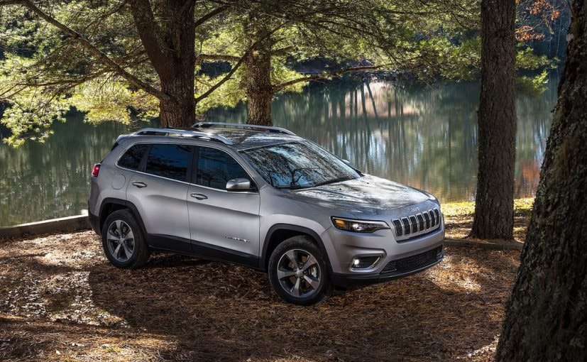 jeep cherokee is about 90 kg lighter than before