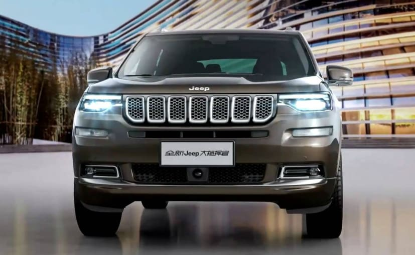 jeep grand commander front