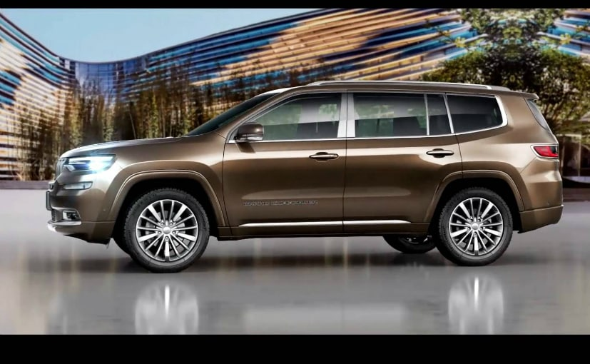 jeep grand commander side