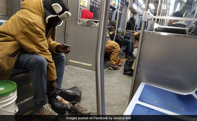 He Gave His Boots To A Homeless Man In Tattered Shoes. The Story Is Viral