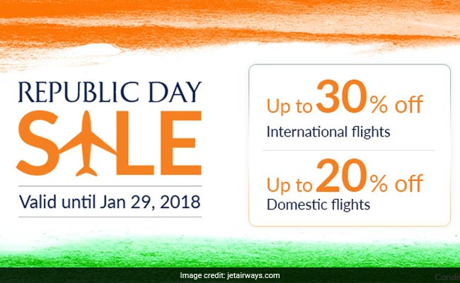 jet airways republic day sale