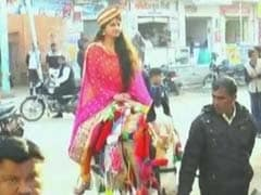 Rajasthan MBA Bride Arrives At Ritual On Horseback With A Message