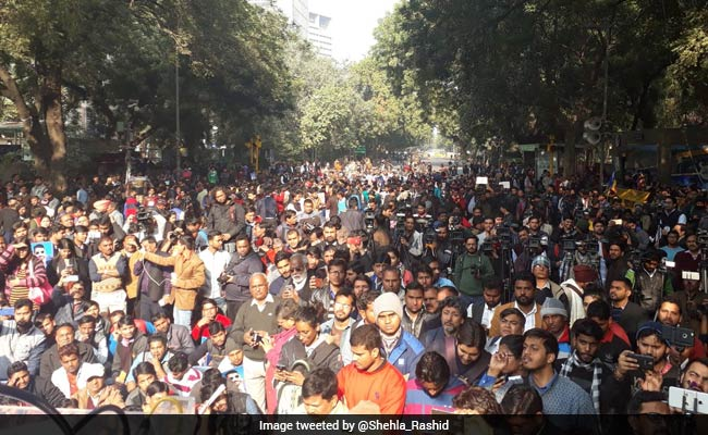 Jignesh Mevani's Delhi Rally On Depite No From Police: 10 Facts