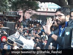 "'Yuva Hunkaar Rally' Highlights: ""We Only Want To Save Our Constitution"", Says Jignesh Mevani"