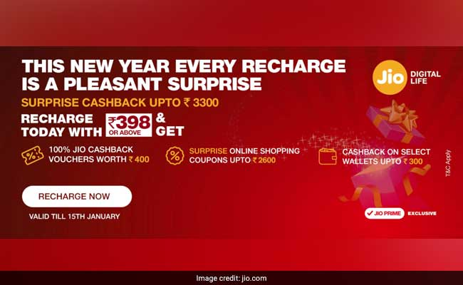 jio surprise cashback offer