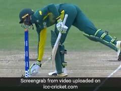 अजीबो-गरीब तरह से आउट हुआ ये क्रिकेटर, अफ्रीकी कप्तान बोले- ''ये क्या बेहूदा मजाक है...''