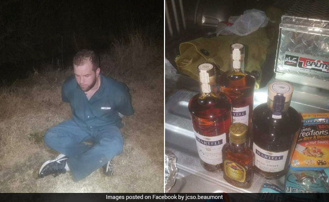 Man Escapes Prison, Caught While Trying To Re-Enter With Food, Booze