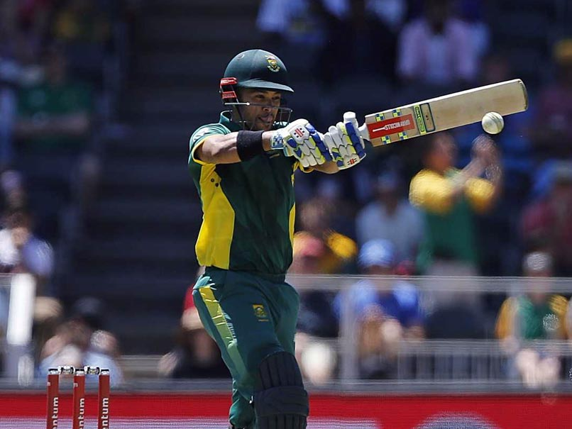 India vs South Africa: JP Duminy To Lead SA Team In T20s Against India