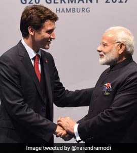 'Will See You In India Soon' Tweets Justin Trudeau After Meeting PM Modi