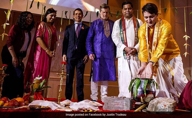 Justin Trudeau Celebrates Pongal, Charms Internet In A 'Veshti'