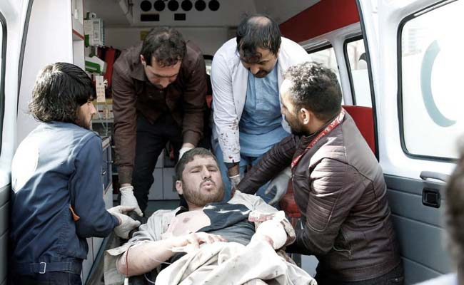 kabul ambulance blast reuters
