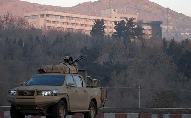 Hostages taken as four gunmen storm Intercontinental Hotel in Kabul
