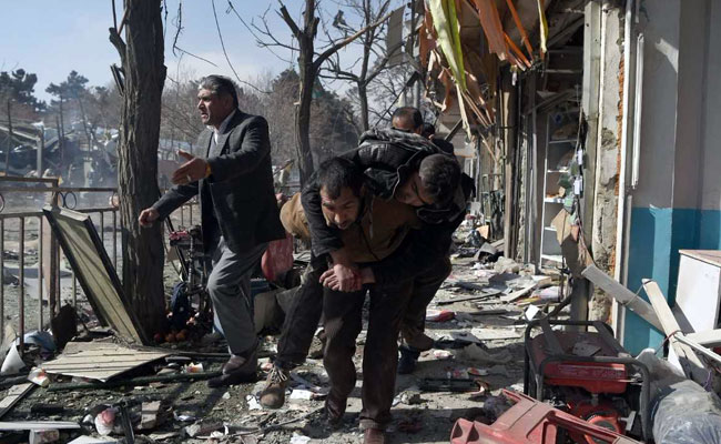 Kabul On High Alert After Ambulance Bomb Deaths Increases To 103