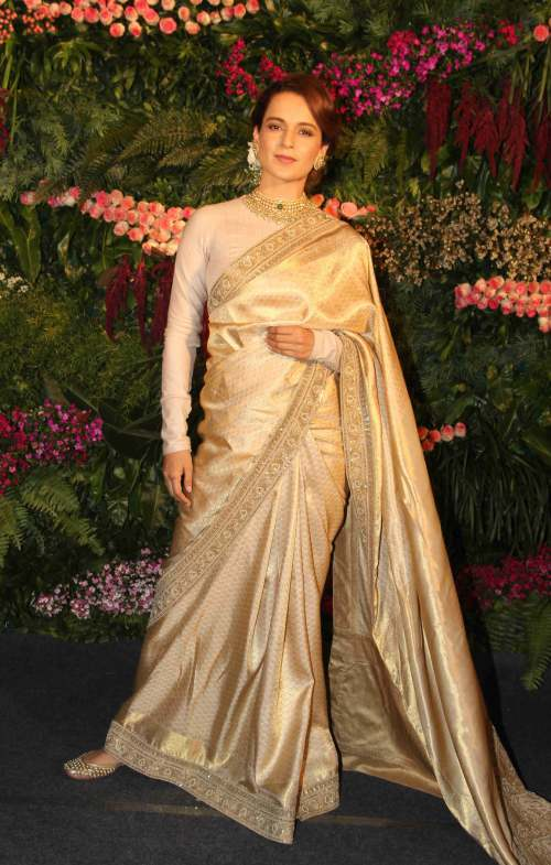 9 Times Kangana Ranaut Slayed The Saree Game
