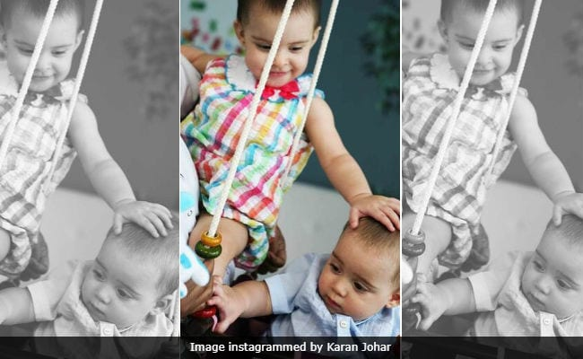 Karan Johar's Pic Of Daughter Roohi Showing 'Sister Love' To Little Yash Will Melt Your Heart