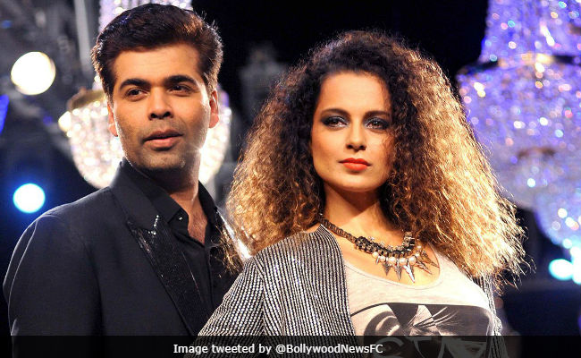 Karan Johar Will 'Lovingly And Respectfully' Welcome Kangana Ranaut On His Show