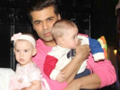 """Karan Johar Doesn't Want His Twins To """"Grow Up On Film Sets"""""""