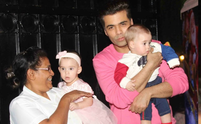 Karan Johar Doesn't Want His Twins To 'Grow Up On Film Sets'