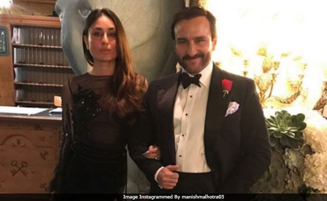 Kareena Kapoor And Saif Ali Khan, The 'Royal Couple,' In A Pic From New Year Bash. Seen Yet?